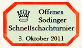 Offenes Sodinger Schnellschach-Turnier