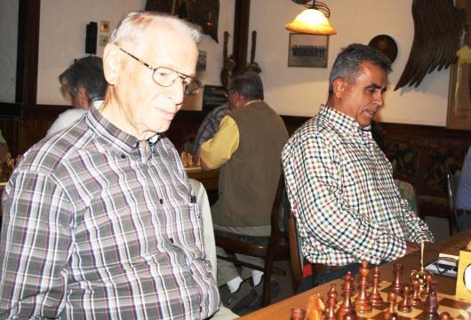 Friedrich Thierhoff und Agim Selmanaj