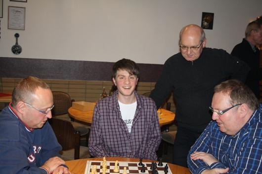 Georg Mikulski, Thomas Hartmann, Eckhard Behnicke und Frank Kowalczyk