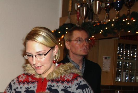 Lisa Kähmann und Dieter Jeschke