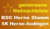 Gemeinsame Weihnachtsfeier BC Herne-Stamm und SK Herne-Sodingen