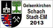 Gelsenkirchener Schach - Stadtmeisterschaf 2013